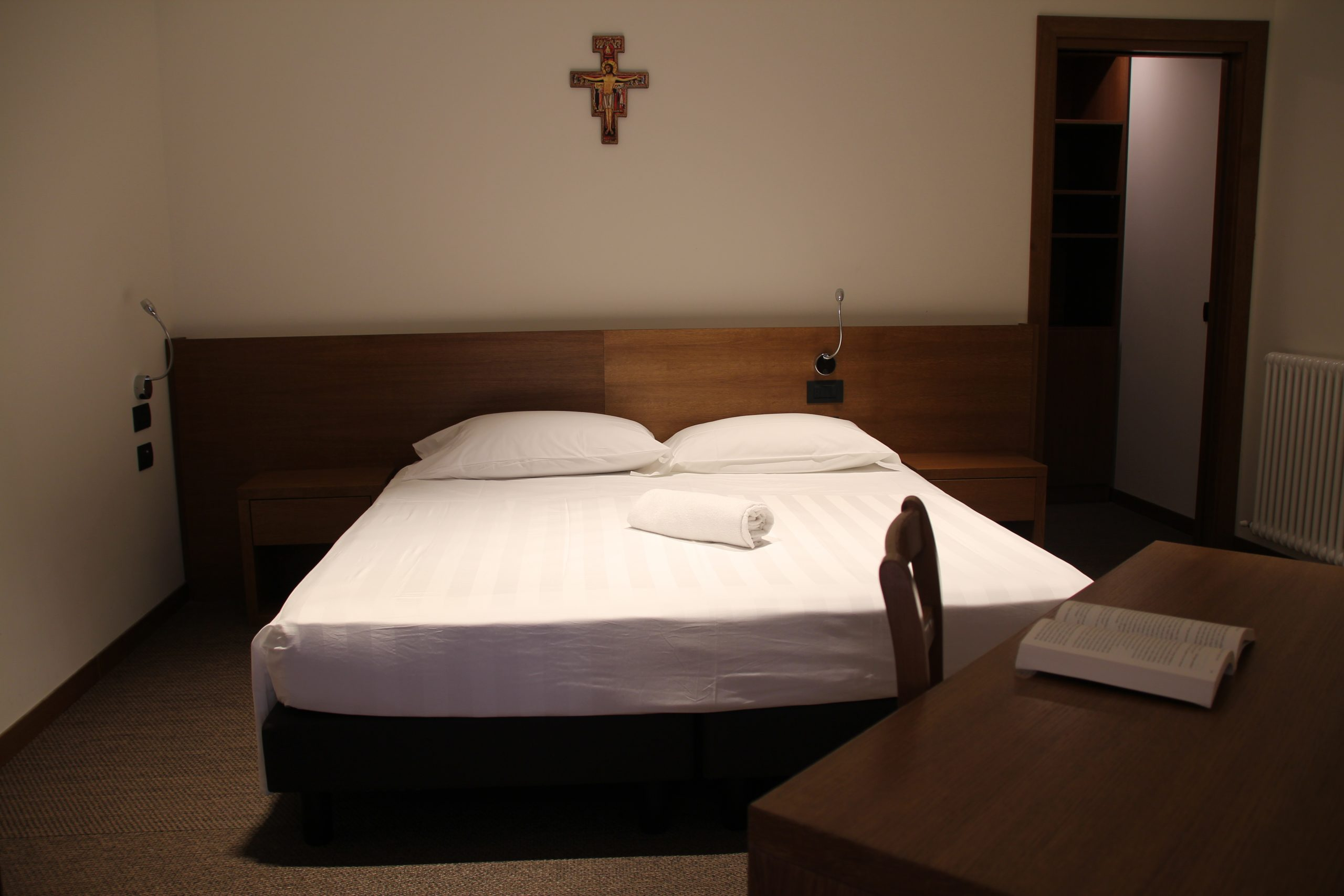 Centro di spiritualità ad Assisi - Domus Laetitiae - Gli alloggi