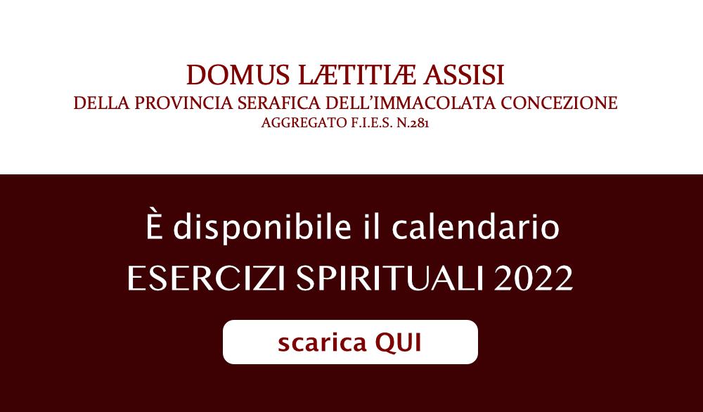 Esercizi spirituali 2022